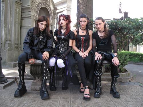 готик рок группы слушать онлайн