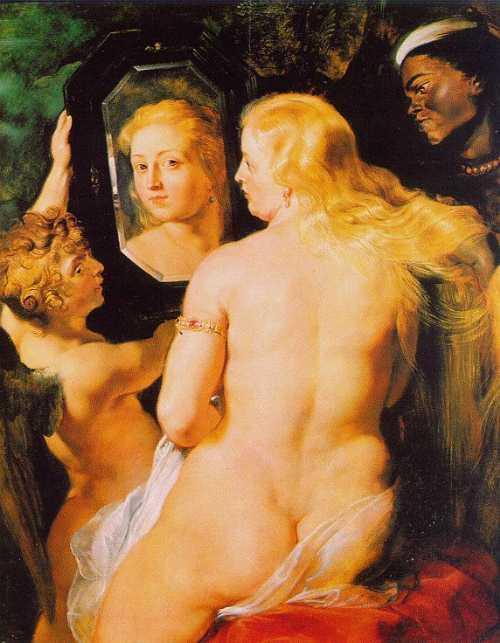 Венера у зеркала, 1615, Рубенс
