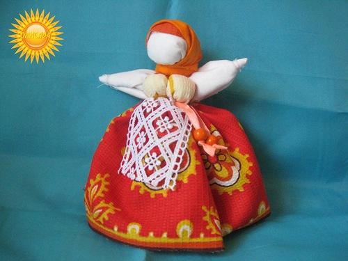 Кукла Капустка или Карельская рванка для оберега детей