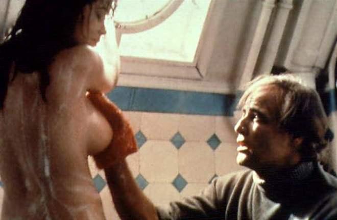 8. Последнее танго в Париже, 1972 (Ultimo Tango a Parigi) скриншоты скандал