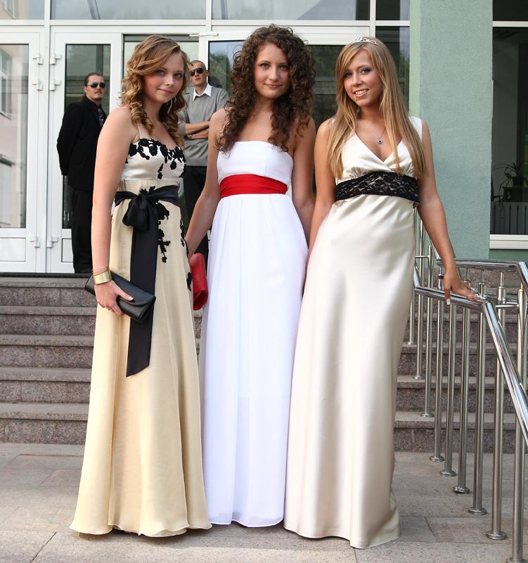 Платья для выпускного русские