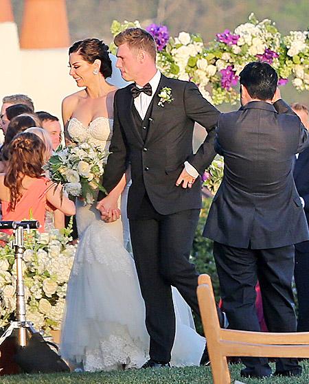 свадьба ник картер женился 2014 лорен китт санта барбара