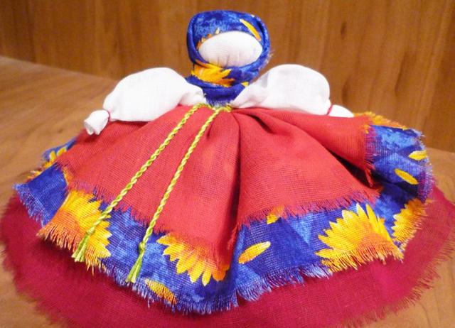 народная кукла баба славян славянская оберег