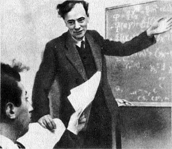 Советский физик Лев Давидович Ландау
