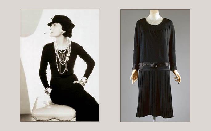 4b03b042556 Мадмуазель Шанель и ее маленькое черное платье 1926 года