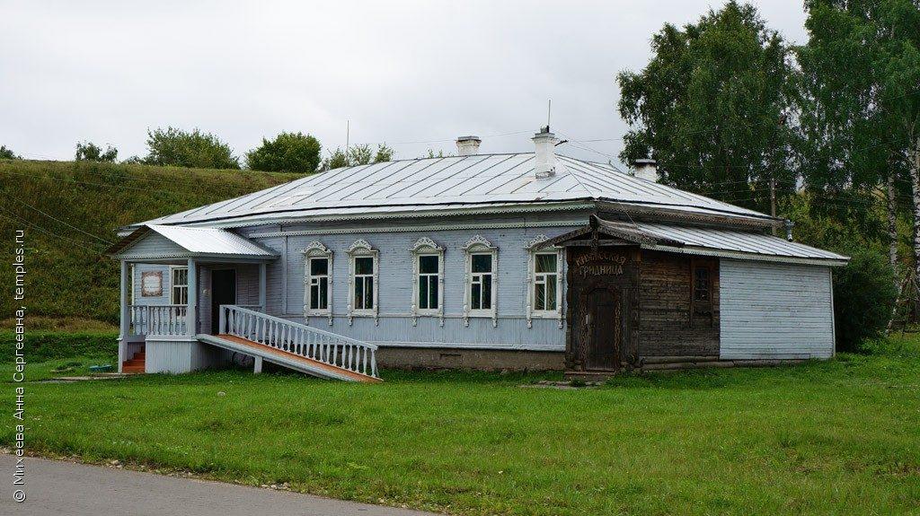 няжеская гридница в Белозерске фото
