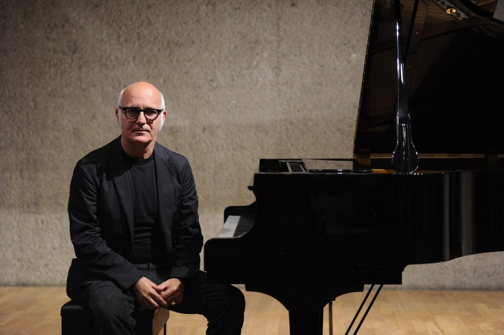 BEIJING, CHINA - JUNE 04:  (CHINA OUT) Italian pianist Ludovico Einaudi attends a press conference to promote his album 'In A Time Lapse' on June 4, 2013 in Beijing, China.  (Photo by ChinaFotoPress/ChinaFotoPress via Getty Images)