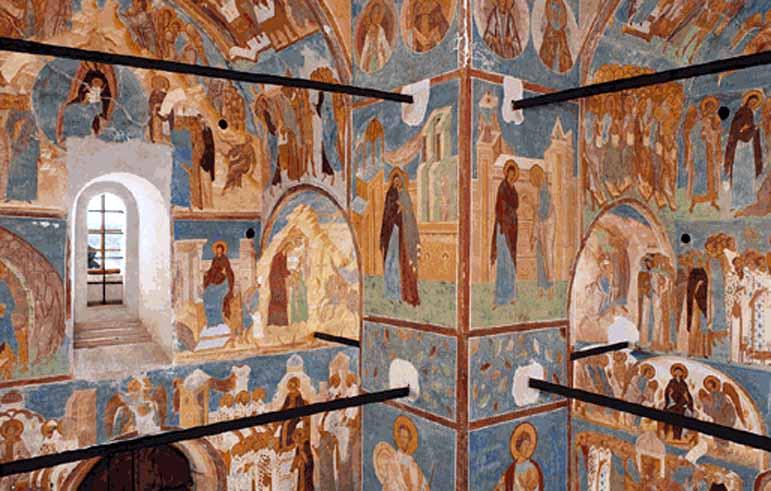 Вологодчина Ферапонтов монастырь: Фрески фото и описание