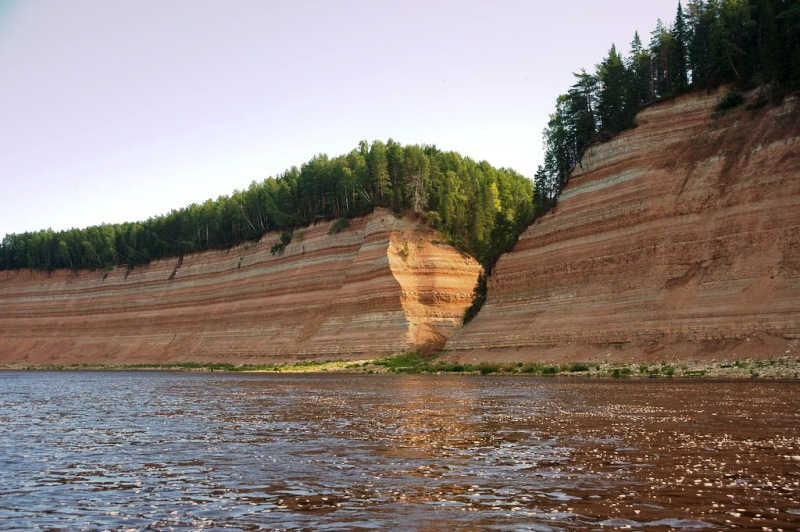 Разлом Опоки геологический фото вологодчина великий устюг