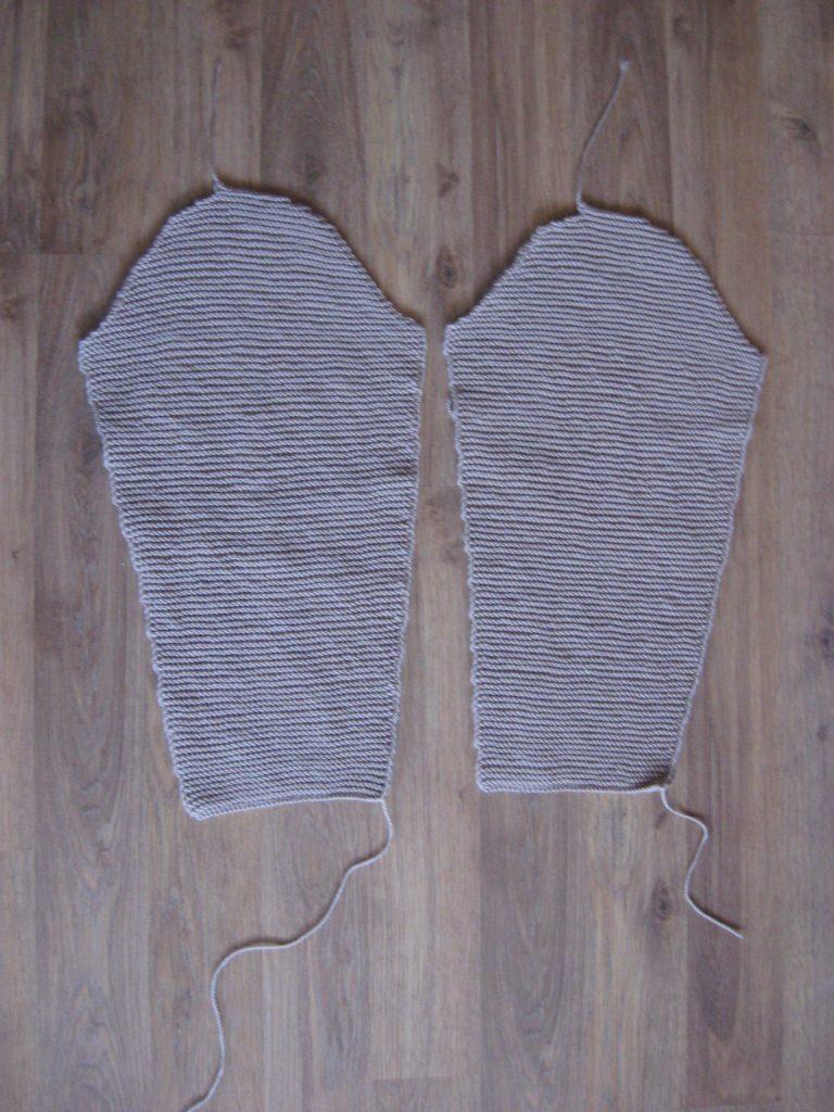 рукава вязаного модного кардигана своими руками фото