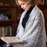 как носить оренбурский платок фото