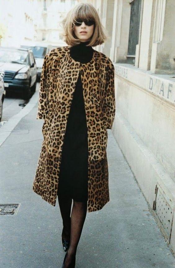 С чем носить леопардовое Более 85 фото Сеты луки Как